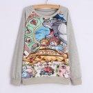 Totoro Sweatshirt Sudadera WH214 Kawaii Clothing