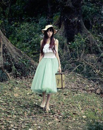 Falda Princesa / Princess Skirt WH036 Kawaii Clothing