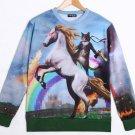 Sudadera Unicornio y Gato / Cat and Unicorn Sweatshirt WH123 Kawaii Clothing