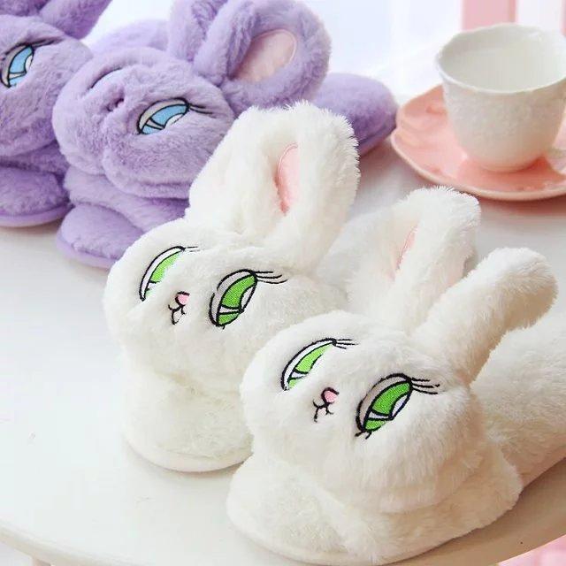Zapatillas Conejo / Bunny Slippers WH196 Kawaii Clothing