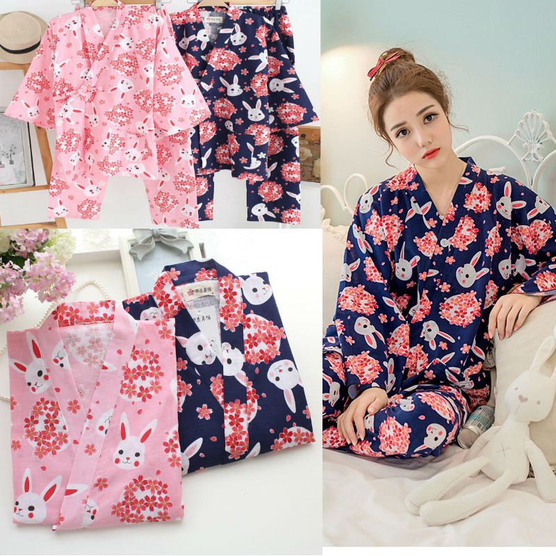 Pijama Conejos Kimono Bunnies Pajamas Wh218 Kawaii Clothing