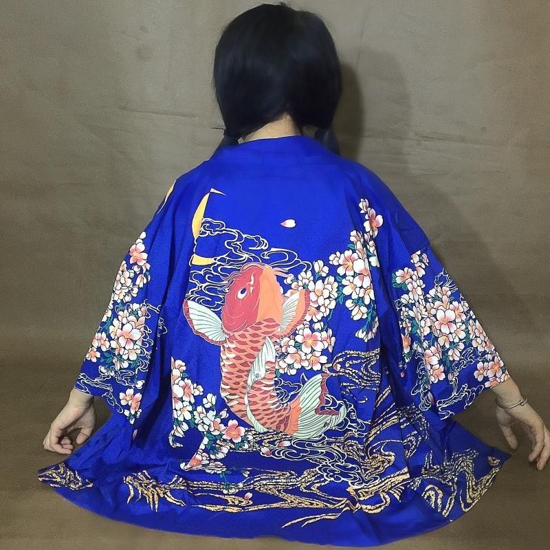 Carp Jacket / Chaqueta Carpa Wh219 Kawaii Clothing
