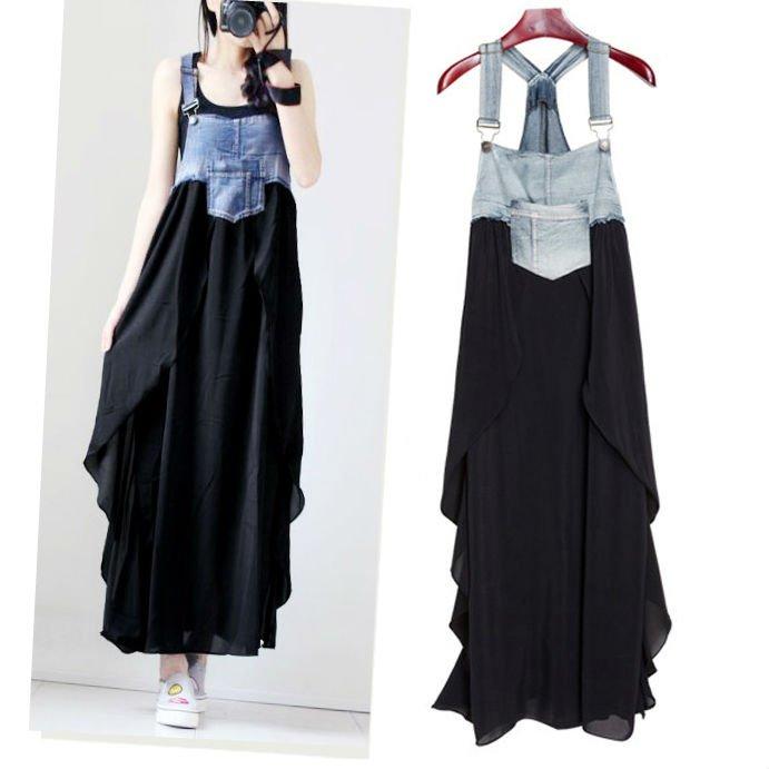Denim Dress / Vestido Vaquero WH067 Kawaii Clothing