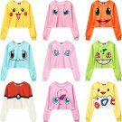 Pokemon Sweatshirt Sudadera WH317 Kawaii Clothing