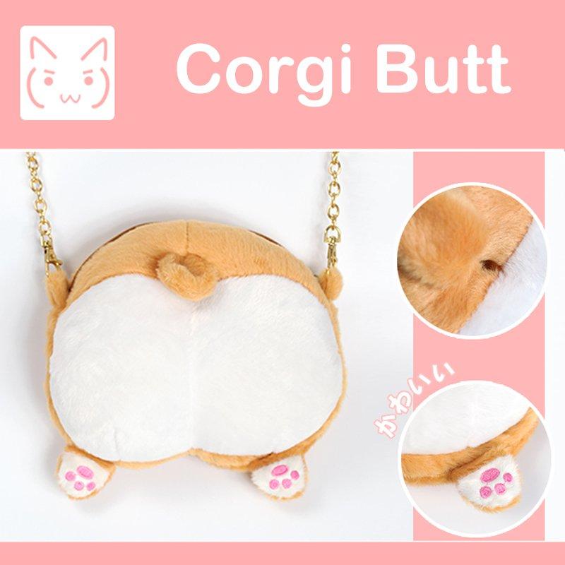 Corgi Butt Bag / Bolso Culo Corgi WH053 Kawaii Clothing