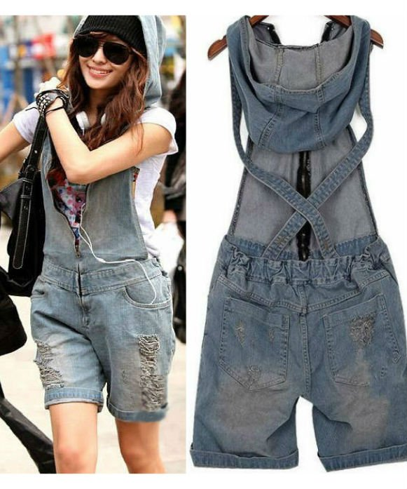 Denim Jumpsuit / Mono Vaquero WH329 Kawaii Clothing