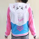 D.Va Overwatch Jacket Chaqueta WH389 Kawaii Clothing