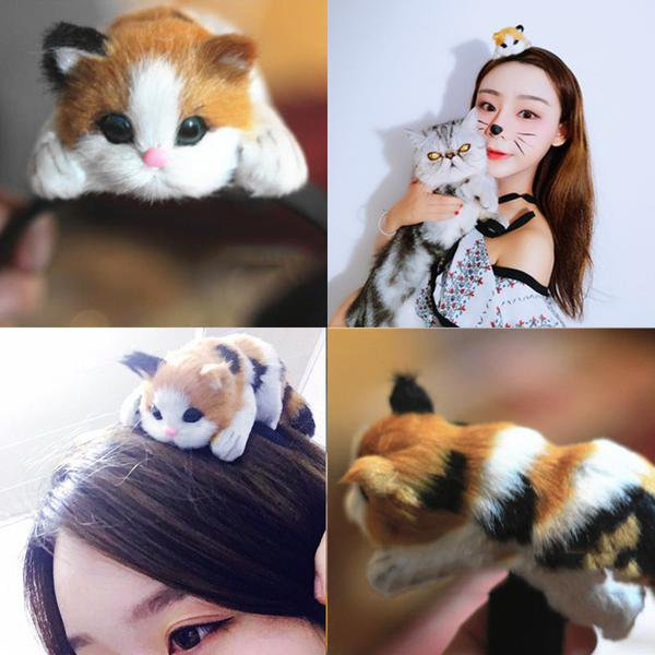 Cat Hairband / Diadema Gato WH401 Kawaii Clothing