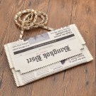 Newspaper Bag / Bolso Periódico WH468 Kawaii Clothing
