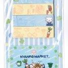 San-X Nyan Nyanko 5th Anniversary LE Sticky Notes - Nyanko Market
