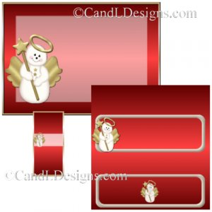 Angelbear Candy Wrapper/Party Favors Set [dl080]