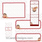 Cupid Candy Wrapper/Party Favors Set [dl066]