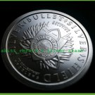 Cannabis 1 oz BU .999 pure solid silver only 15.1k Minted Silver Bullet Silver Shield
