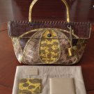 Gorgeous 100% Authentic Bottega Veneta Karung / Lizard Bag NWT