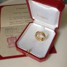 Cartier Paris Nouvelle Vague 18K YG Diamond Ring Box Papers 52