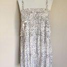 Gorgeous Fendi Black & White Silk Summer Dress 40