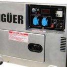 Generador Electrico Diesel Gasolina 7000W Trifásico
