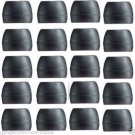 40 pc SMALL JayBird Freedom Compatible JF3MP Replacement Silicone Ear Tips buds
