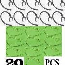 20 pc (10n10c) EAR HOOK LOOP LG-HBM  230 235 260 Earhook Bluetooth ear clip