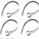 4 c EAR HOOK LOOP CLIP Compatible Samsung Hm1100, Hm 1100, Hm1200, Hm 1200, 1000
