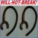 2 NoBREAK® EarHook Upgrade for: Samsung HM1900 HM 1900 Loop Clip Wire bud holder