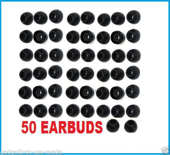 100 pc MEDIUM Replacement Silicone EARBUD Tips Skullcandy in-ear Earphones USA