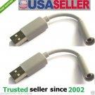USA 2pcs USB Charge Data Sync Cable Jawbone UP Bracelet Wrist Band Charger