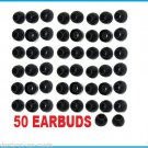 50 pc MEDIUM Replacement Silicone EARBUD Tips Skullcandy in-ear Earphones USA