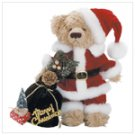 Plush Santa Bear with Bag