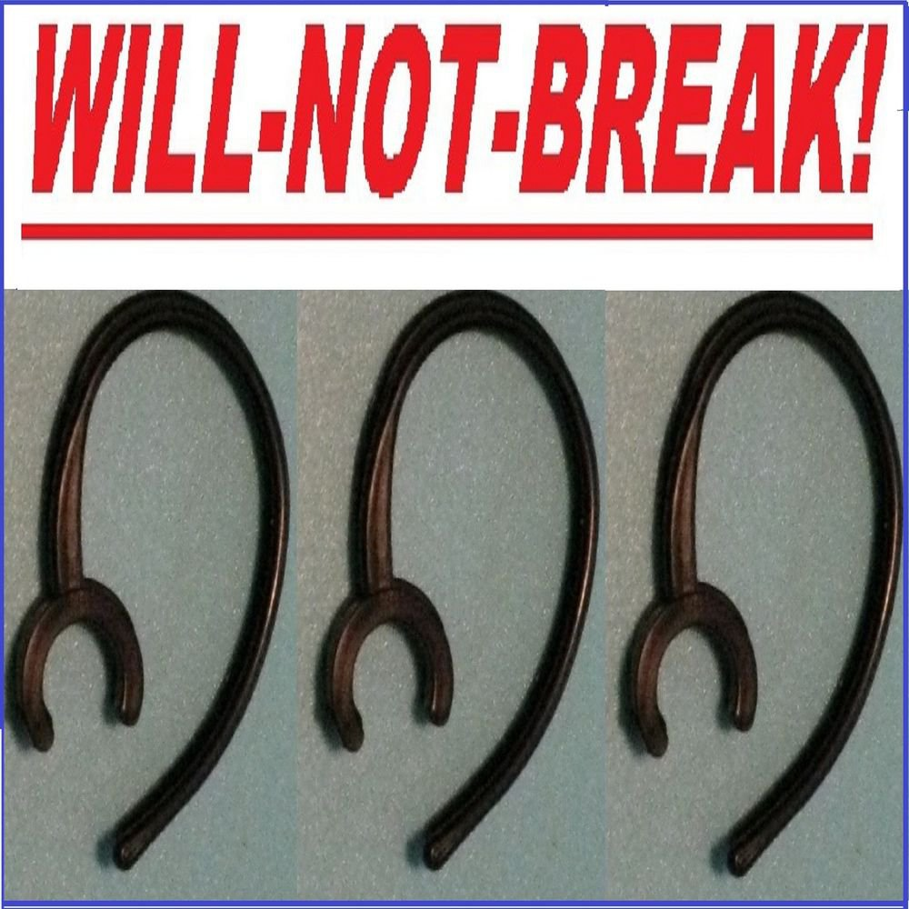 3 NoBREAK WEP450 FOR SAMSUNG WEP 460 470 BLUETOOTH HEADSET EAR HOOK LOOP CLIP
