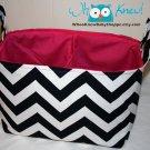 Custom Fabric Storage Basket, Diaper Caddy