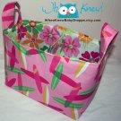 Fabric Storage Basket, Diaper Caddy