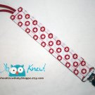 Pacifier Clip, Soothie, MAM, Pacifier holder, Fabric, Toy Tether, Lead-free Clip