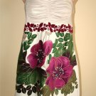 Free People anthropologie floral embroidered top blouse tunic XS 2  EXTRA SMALL