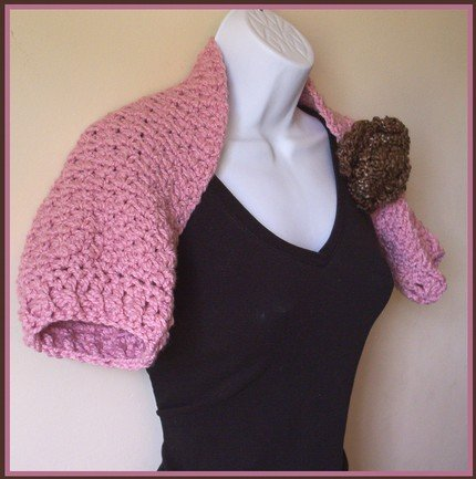 Crochet Shrug - Last Kiss