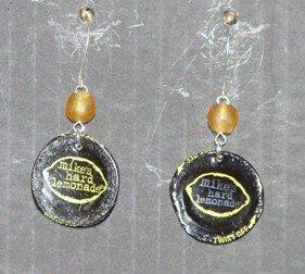 recycled mikes hard lemonade bottle caps