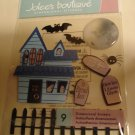 Jolee's Boutique Scary Halloween Dimensional Stickers