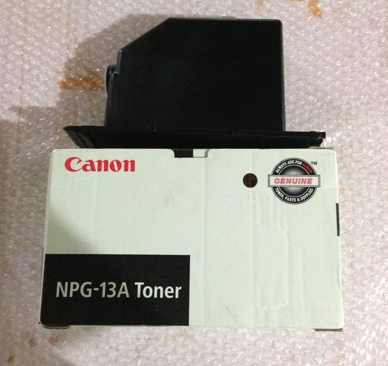 Genuine Canon NPG-13A Toner ~ For the NP6035 or NP6230 copiers- Open Box