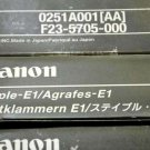 Lot of 5 x Boxes - CANON STAPLE-E1 - F23-5705-000 - 0251A001AA