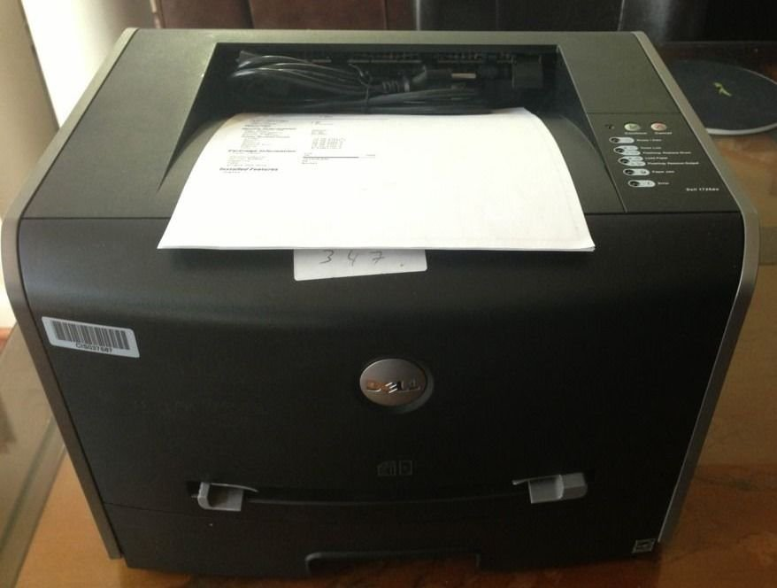 DELL Laser Network Printer 1720DN - Duplex - Page Ct:22k, USB - with Toner