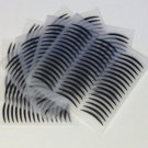 HOT NEW 168 PAIRS HIGH QUALITY Double Eyelid Adhesive Tape Black Narrow (one-sided )