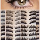 HOT New 10/40/60/120 Pair Natural OR Thick Fake False Eyelashes Eye Lash Fashion