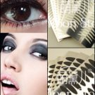 New Hot 240 Pairs Double Eyelid Adhesive Tape Black Narrow  15 Sheets