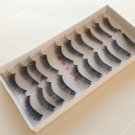 2 Boxes (20 Pairs ) Natural Black Long Handmade False Eyelashes