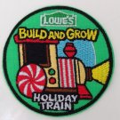 Lowe's Build and Grow Patch Holiday Train