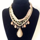 Elegant Simple Stylish Multi Color bib Necklace