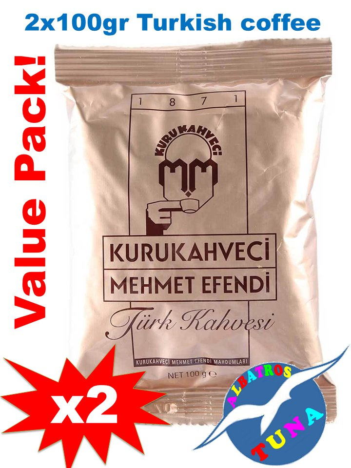 Turkish Coffee by Kurukahveci Mehmet Efendi 2x100 gr.