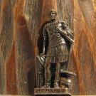Roman 3 Kinder Surprise Metal Soldier Figurine Vintage Toy 4 cm Browned Finish