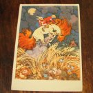 VINTAGE POSTCARD RUSSIAN USSR FOLK FAIRY TALE PICTURE PAINTING ILLUSTRATION MINT