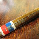 Vintage Wooden Copying Pencil Signed BOHEMIA WORKS Bamboo Style Design NOS